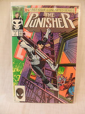 Marvel The Punisher Comic #1 NM+ 9.6 White Pages!