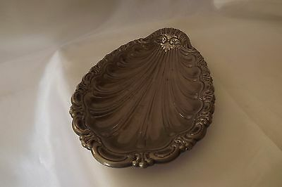 silver plated dish