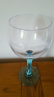 Bombay Saphire Gin Glass Goblet Ideal Christmas Present