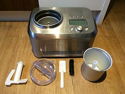 Sage by Heston Blumenthal The Smart Scoop Ice Cream Maker BCI600UK RRP £350