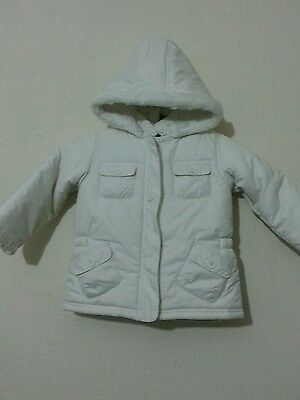 Girls 2 Piece Jacket Size 2-3 Years Cream Colour From M&s