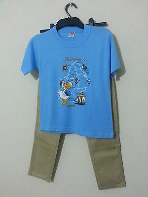 Boys Clothes T Shirt & Trouser Brand New With  Tag Size 7-8 Years