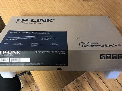 TP-LINK (TL-SF1048) 48-Port 100Mbits RackMount Ethernet Switch