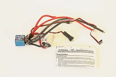 Mtroniks M3 Pro 8 Turn Limit Brushed Electronic Speed Controller / ESC