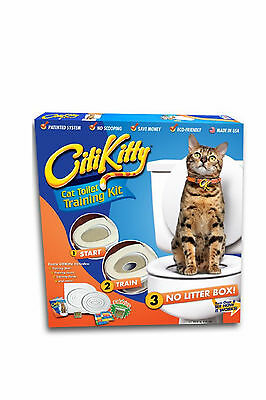 Cat Toilet Training Litter Tray Kit Potty Training System Pet Kitty