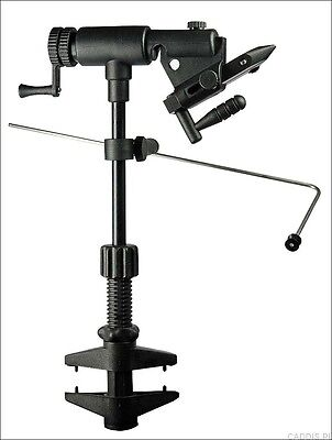 Danica Danvise Vice Fly Tying Vise Cam Jaw action fully rotating Clamp !