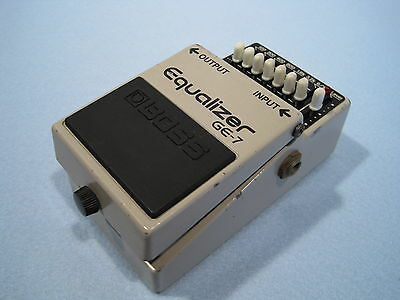 BOSS GE-7 Graphic Equalizer E.Guitar Effects Pedal Made in Japan / Free Shipping