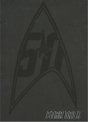 Star Trek  50th Anniversary promo card P2 (Philly Show)