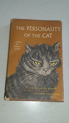 For the Divine Feline! 1958 The Personality of the Cat by Brandt Aymar