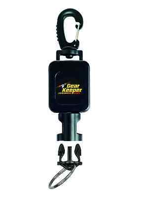 Gear Keeper RT4-5912 Small Flashlight Retractor Large Heavy Duty Snap Clip Mount