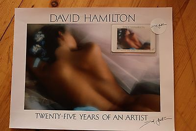 Rare Photo DAVID HAMILTON Twenty-Five Years of An Artist + Carte / 192