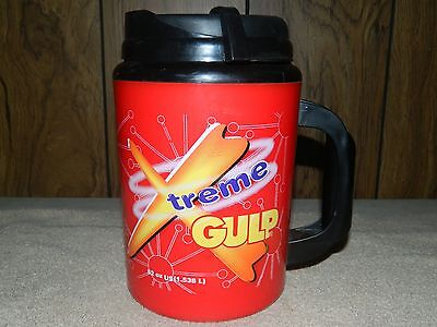 Xtreme Gulp Mug, 52 Oz. Insulated Travel Cup - 7-Eleven - Red