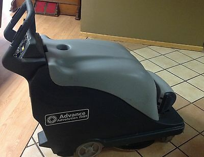 Advance Advolution 20BT burnisher with batteries 63 hours has vacum