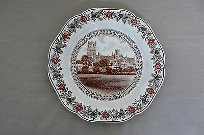 "Original Lner Cathedral Plate C1930S By Wedgewood      ""ely"""