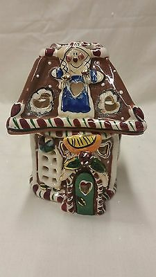 Blue Sky Clayworks by Heather Goldminc Gingerbread Cottage