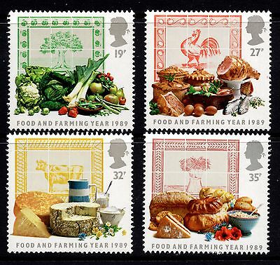 1989 Food and Farming Year Complete Set SG1428 -1431 Unmounted Mint