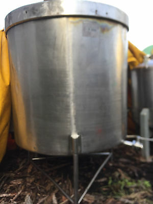 1,000 Litre Stainless Steel Storage Tank