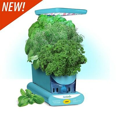 Miracle-Gro AeroGarden Sprout LED with Gourmet Tomato Seed Pod Kit -Teal - *NEW*