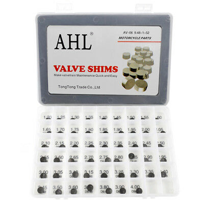 44pcs 9.48mm Valve Shim Kit For Polaris Outlaw 500 06-07 Predator 500 2003-2007