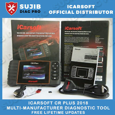 UNIVERSAL Diagnostic Scanner Tool Code Reader Reset OBD2 - iCarsoft CR PLUS 2016
