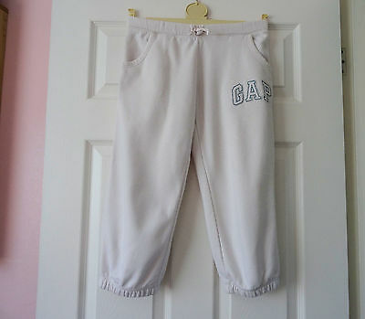 Joggers / Crops  Girls  White   Age  10  Years  Approx  Gap Kids