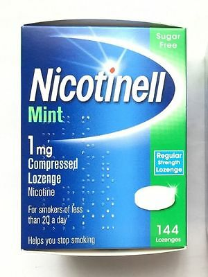 NICOTINELL Mint 1mg Compressed  Lozenges X 144