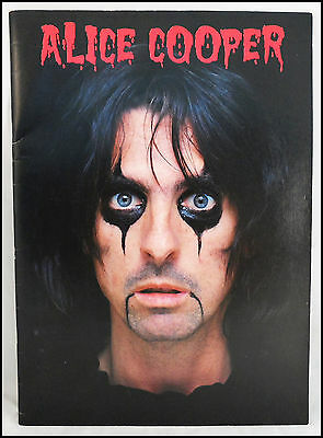 Alice Cooper 1979 Madhouse Rock Concert Tour Program Book