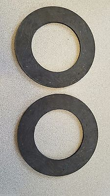 "Two (2) Replacement Friction Disc/Clutch 160mm (6.299"") OD"