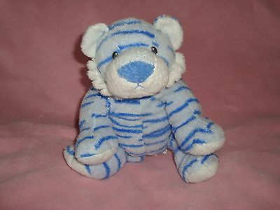 """Baby TY Growlers Blue Tiger 9"""" 2006 Plush"""