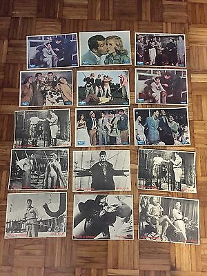 Lot of  14 Jerry Lewis movie lobby cards   Dean Martin comedy mint