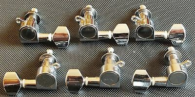Electric / Acoustic Guitar Tuning Pegs. Machine Heads. Left / Right Uk Dispatch