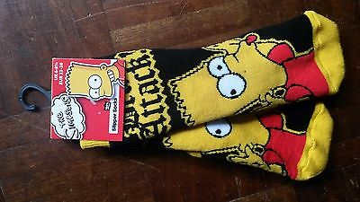 the Simpsons Slipper socks, pair - Excellent condition, unused gift