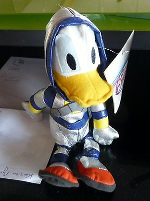 SPACEMAN Astronaut DONALD DUCK BEAN BAG Plüsch Walt Disney Store