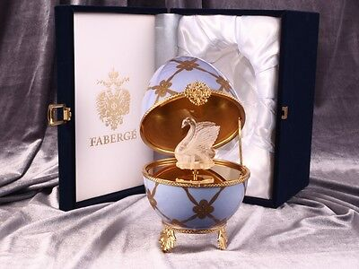 Faberge Imperial Music Box Egg By Limoges