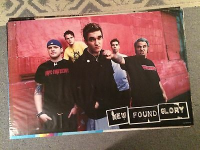 New Found Glory Poster Early 2000's