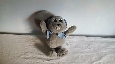 "Plush Rocky Bullwinkle Squirel 12"" 2000 Toy Network Collectible No Tags Stuffed"