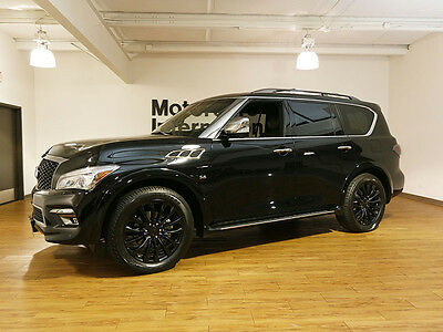 2015 Infiniti QX80 Limited 2015 Infiniti QX80 AWD Limited in the best color and loaded!
