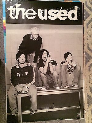 The Used Poster Early 2000's