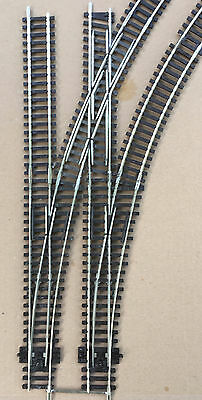 Peco based Double junction with curved crossover & points  OO gauge very rare