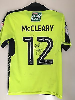 Gareth Mccleary  Worn Signed Football Shirt Reading