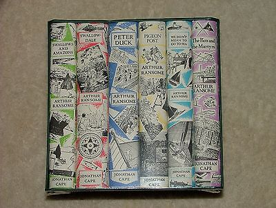 The Swallows and Amazons adventures box set 6 volumes