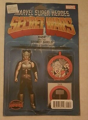 Thors 1 (Secret Wars Toy Variant cover)