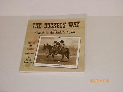 The Duckboy Way or Quack in the Saddle Again Signed 1st Edition