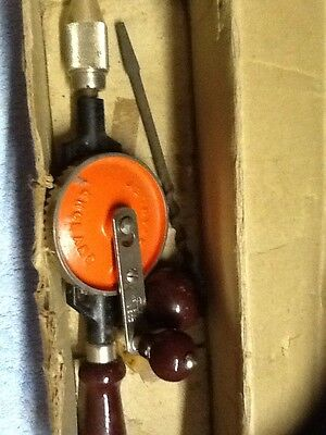 Vintage Hand Drill By Stanley