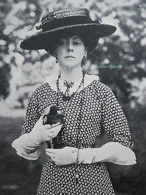 Lady Sarah Isabella Augusta Spencer-Churchill 1914 Photo Article A482