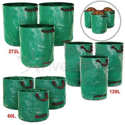 Livivo 3Pc Premium Durable Garden Compost Waste Bags With Handles