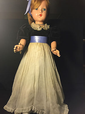 Anne Shirley Little Lady Composition F& B Doll 1930's Orig.rare Big 28''tall