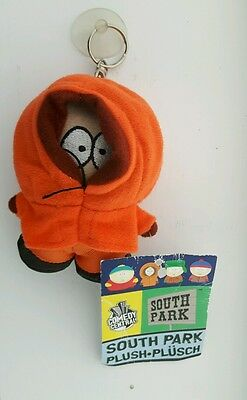 South Park Kenny Plush Keyring With Window Suction Cup NWT