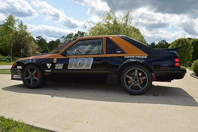 1986 mustang steeda package race car new 331 engine with title