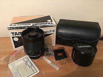 Tamron SP 55BB 500mm f/8 MC Lens